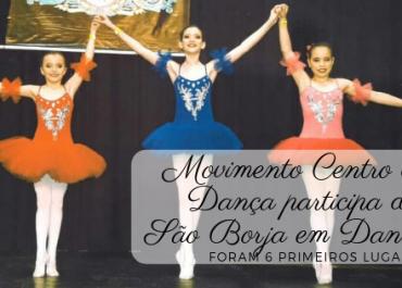 Movimento Centro de Dança Participou do São Borja em Dança.