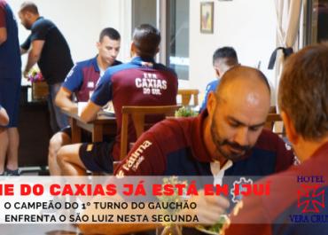 SER CAXIAS se hospeda no Hotel Vera Cruz aguardando o confronto com São Luiz